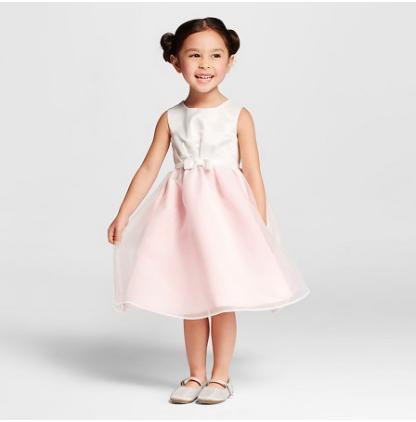 Summer Wedding Style: 5 Flower Girl & Junior Bridesmaid Dresses found at Target