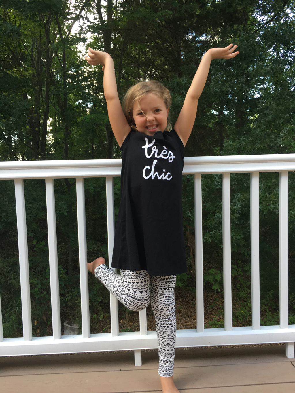 FabKids Tres Chic Dress Fall 2016