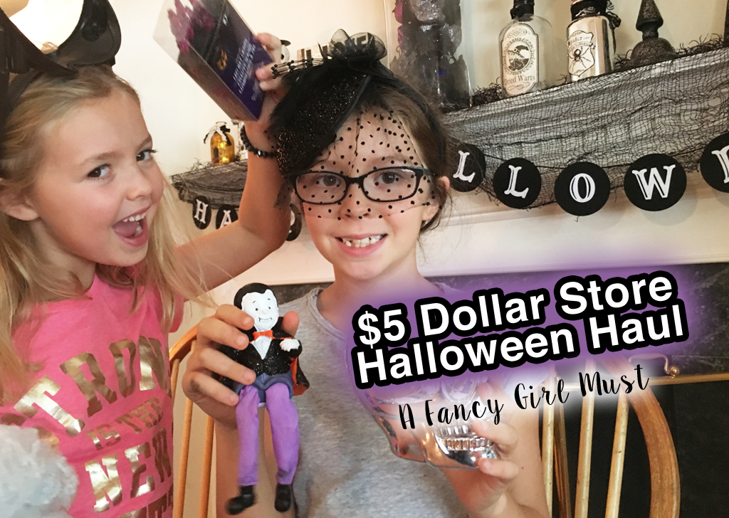 Our $5 Dollar Tree Halloween Challenge!