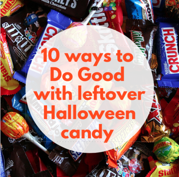 10 ways to donate leftover candy