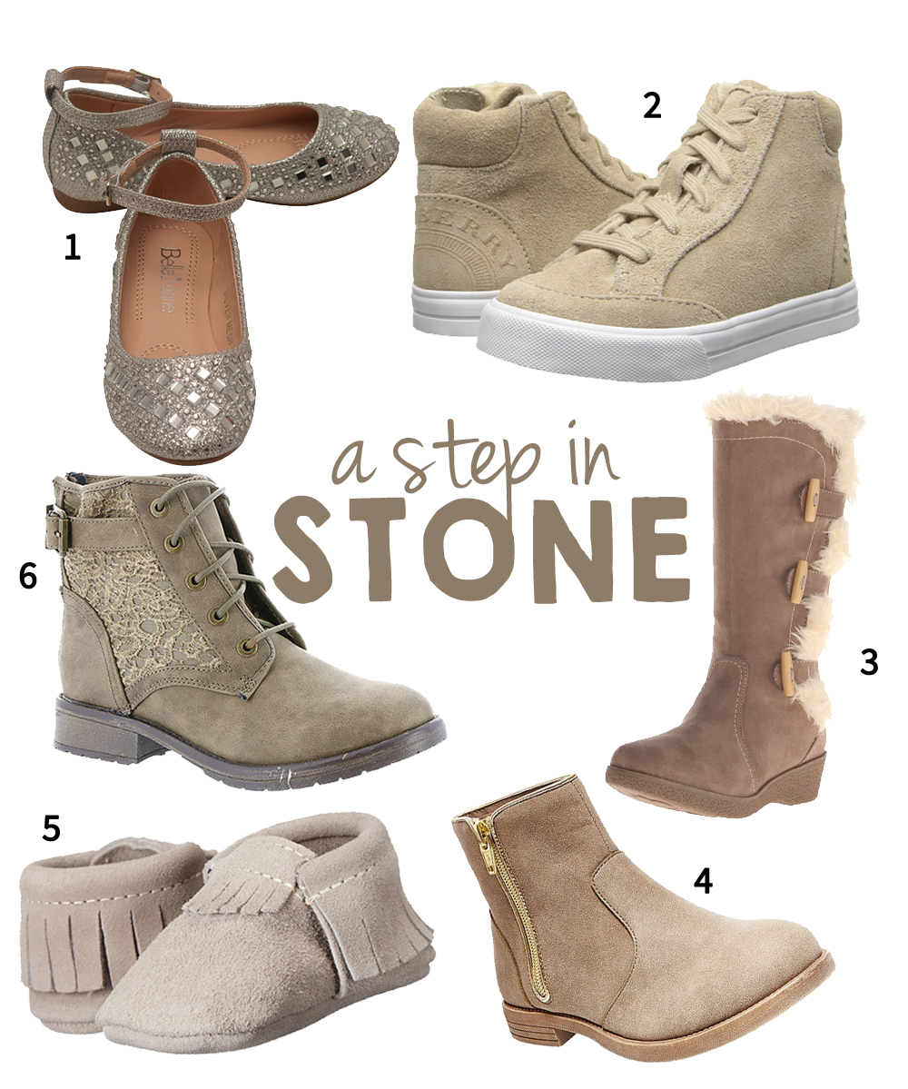 Stone Shoes for Girls