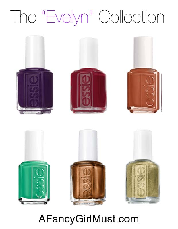 The Fancy Girl List of 18 Essie Nail Polish Colors for Fall