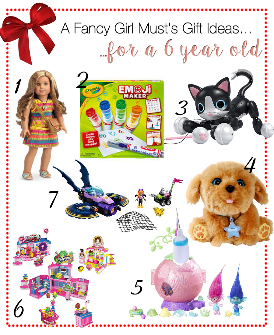 2016 Holiday Gift Guide for 6 Year Old Girls
