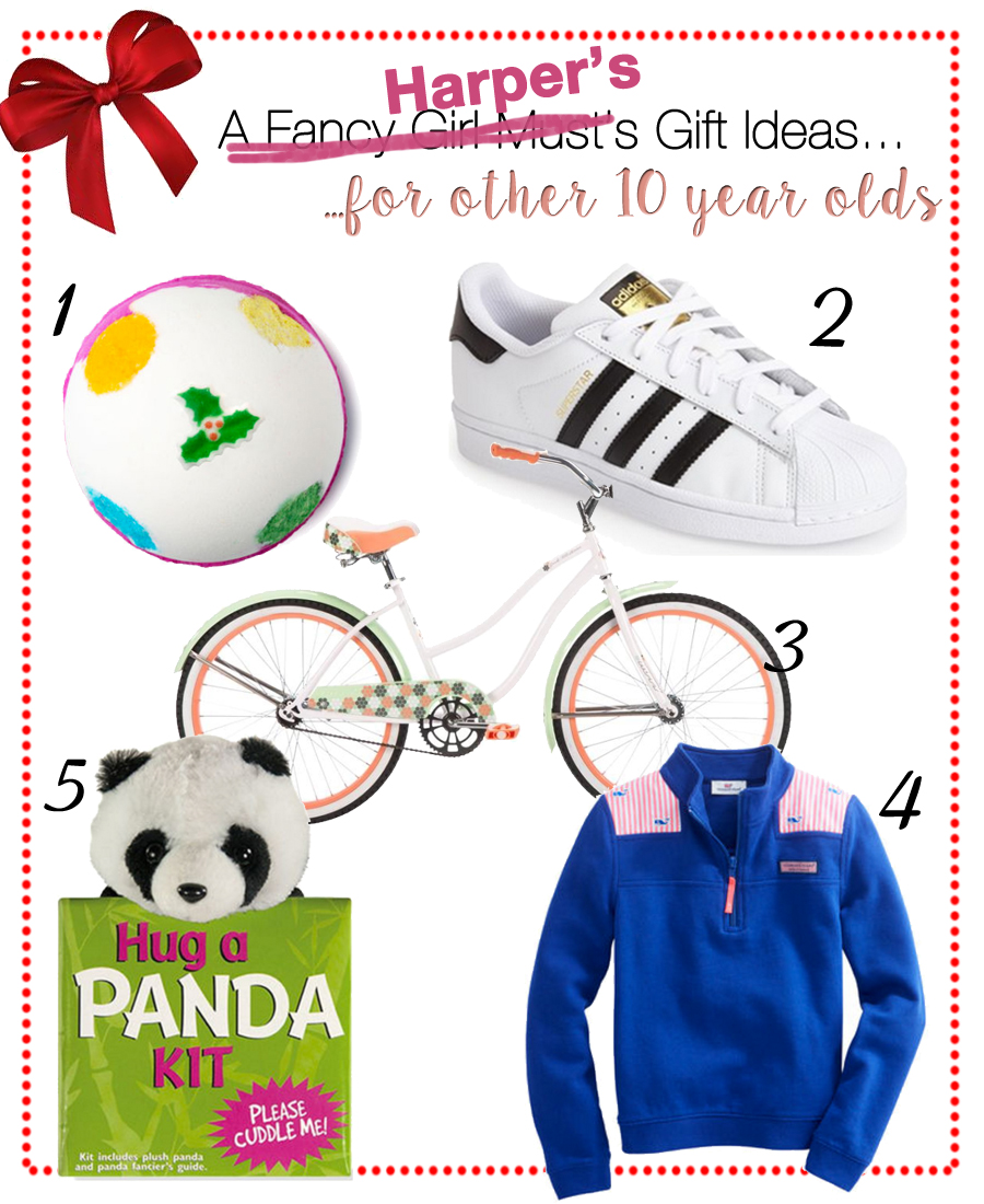 Harper's Gift Guide for 10 Year Old Girls