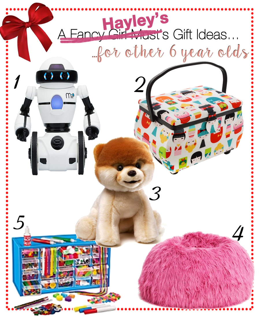 Hayley's Gift Guide for 6 Year Old Girls