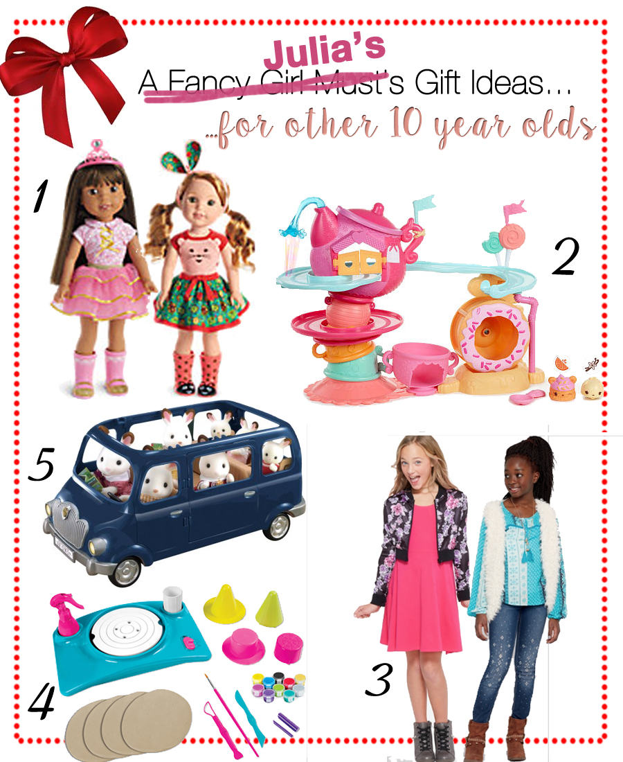Julia's Gift Guide for 5 Year Old Girls