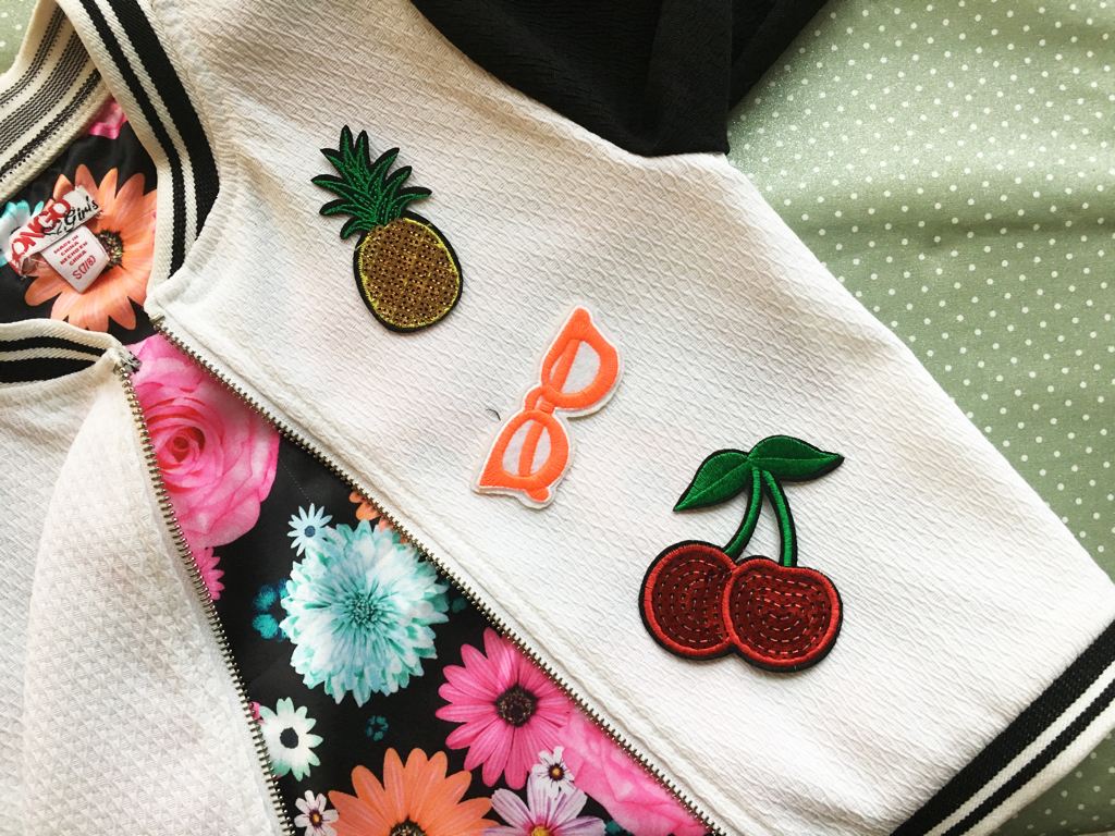 Rock the appliqué trend with this easy DIY jacket