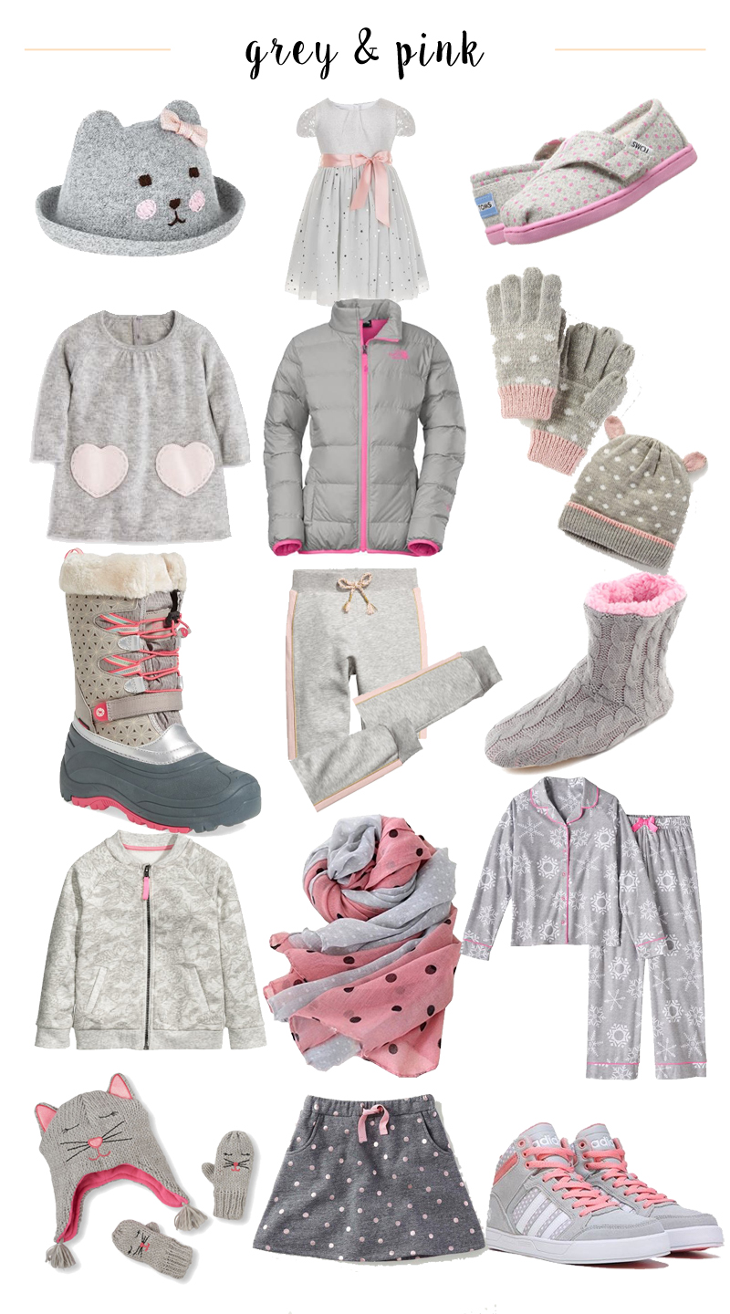 Winter Colors We Love: Grey and Light Pink
