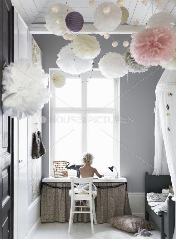 Girls Bedroom Decor Inspo: Stars, Gray and Pink