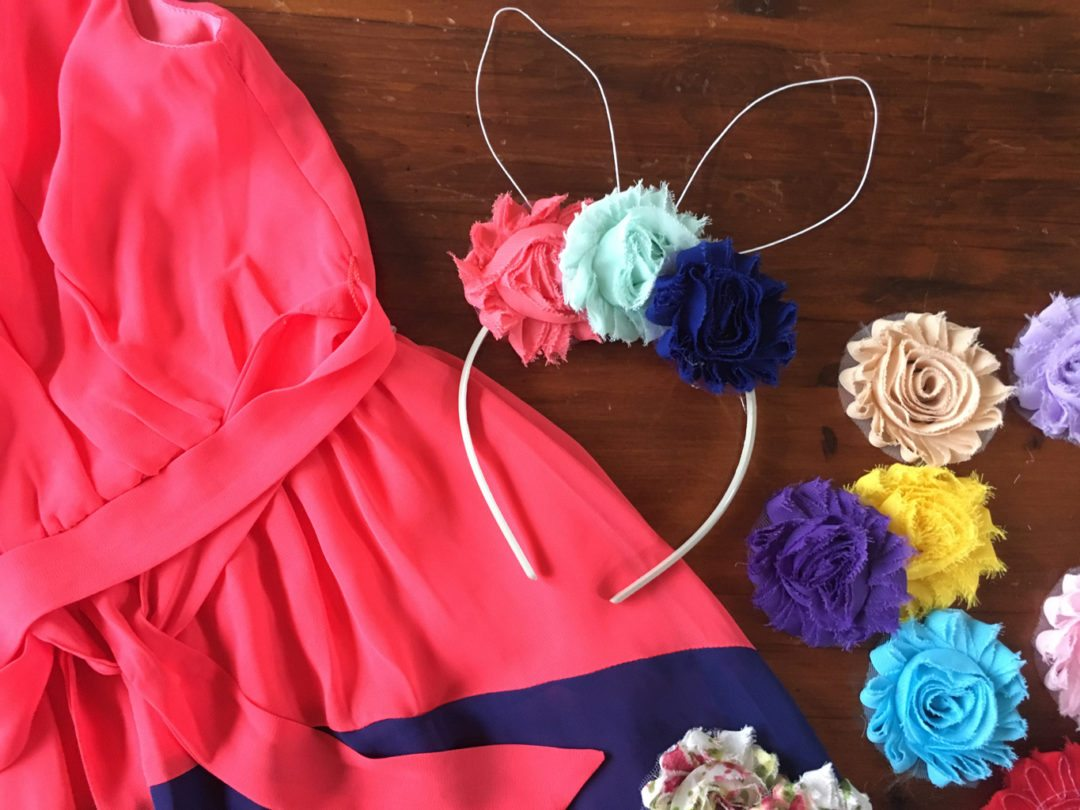 DIY Bunny Ears Headband for Easter