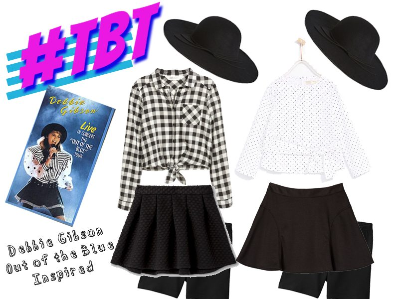 """TBT: Recreated Debbie Gibson """"Out of the Blue"""" tour outfit"""