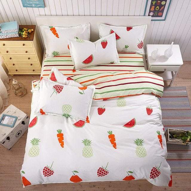 Friday Fresh Picks: Food Print Bed Sheets