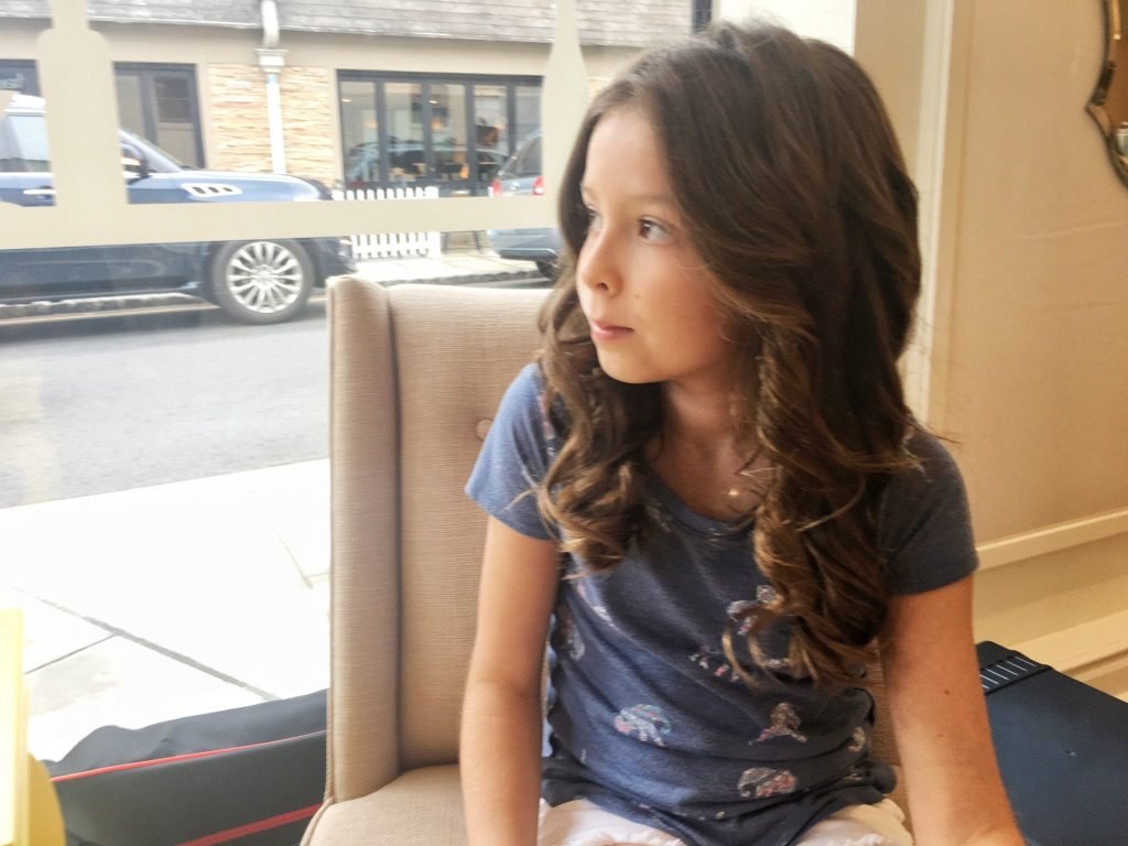 DryBar blowout style for girls