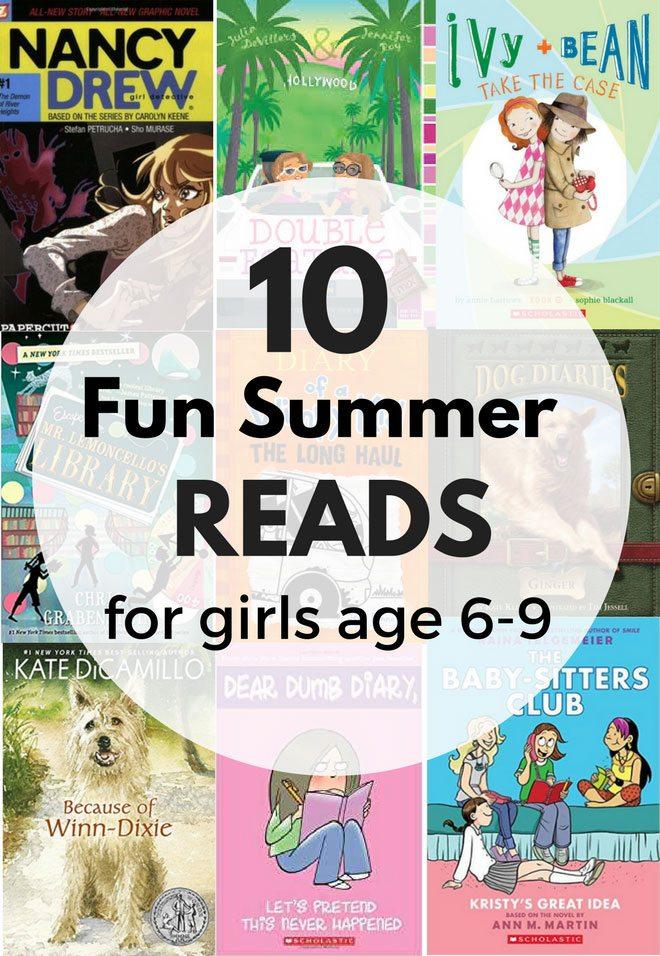 Friday Fresh Picks: 10 fun summer reads for girls age 6-9